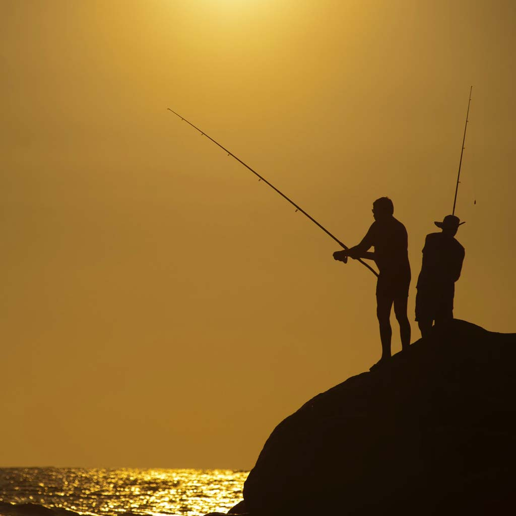 Sea angling licenses