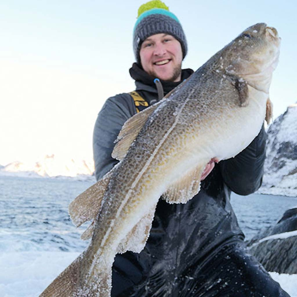 HookPoint Fishing Magazine Lofoten Islands Norway Sportsquest Ross Johnson Matt Crowe Cod
