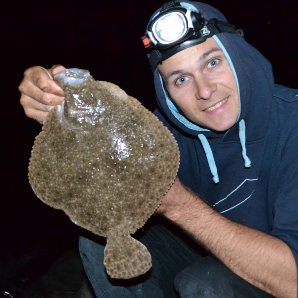 HookPoint Fishing Magazine Steve Perry Hampshire Shore Turbot Brill