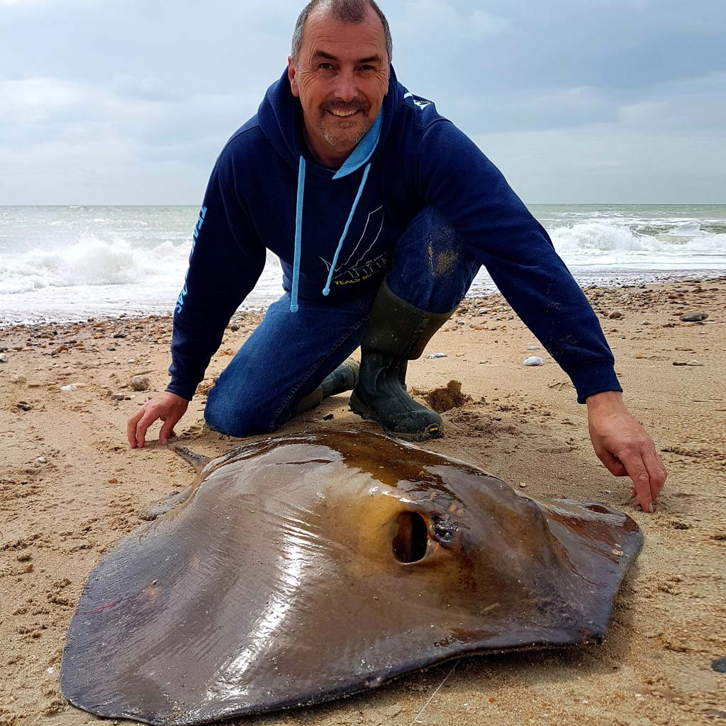 Steve Harder how to catch a stingray