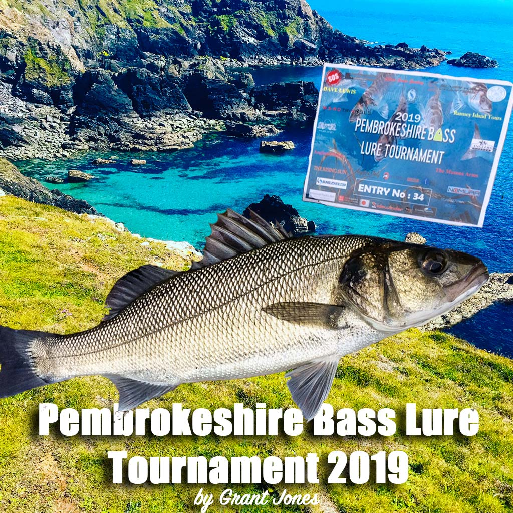 Pembrokeshire bass lure tournament feature written by Grant Jones for Hookpoint fishing magazine