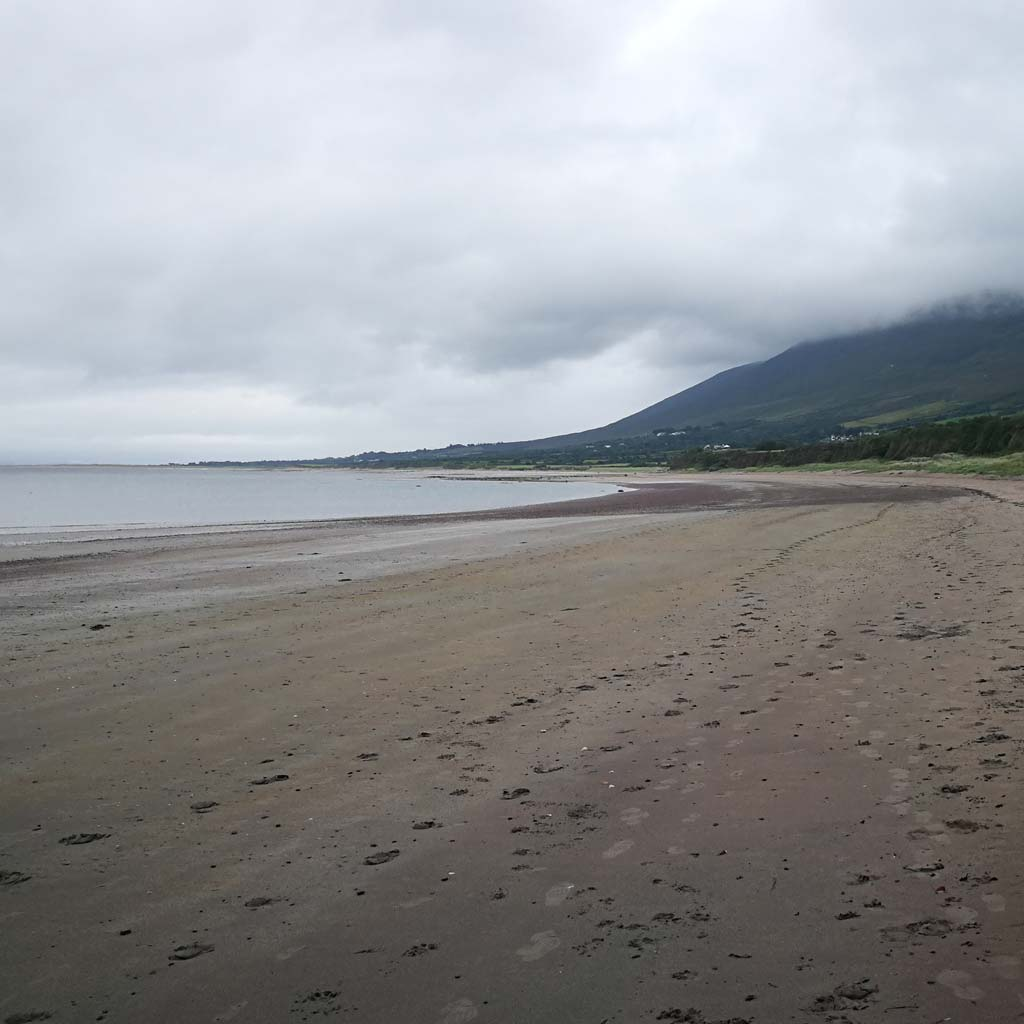 Tralee bay overcast dramatic weather mountain county kerry