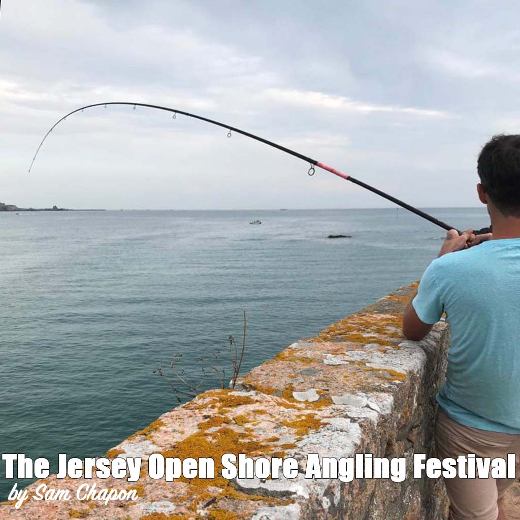 Jersey open shore angling festival