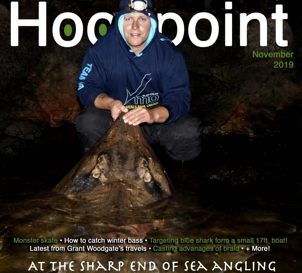 hookpoint fishing magazine november cover ryan wingfield skate