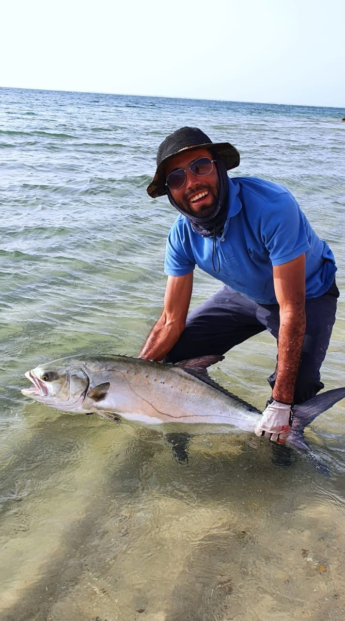 Karim returns a Leer fish