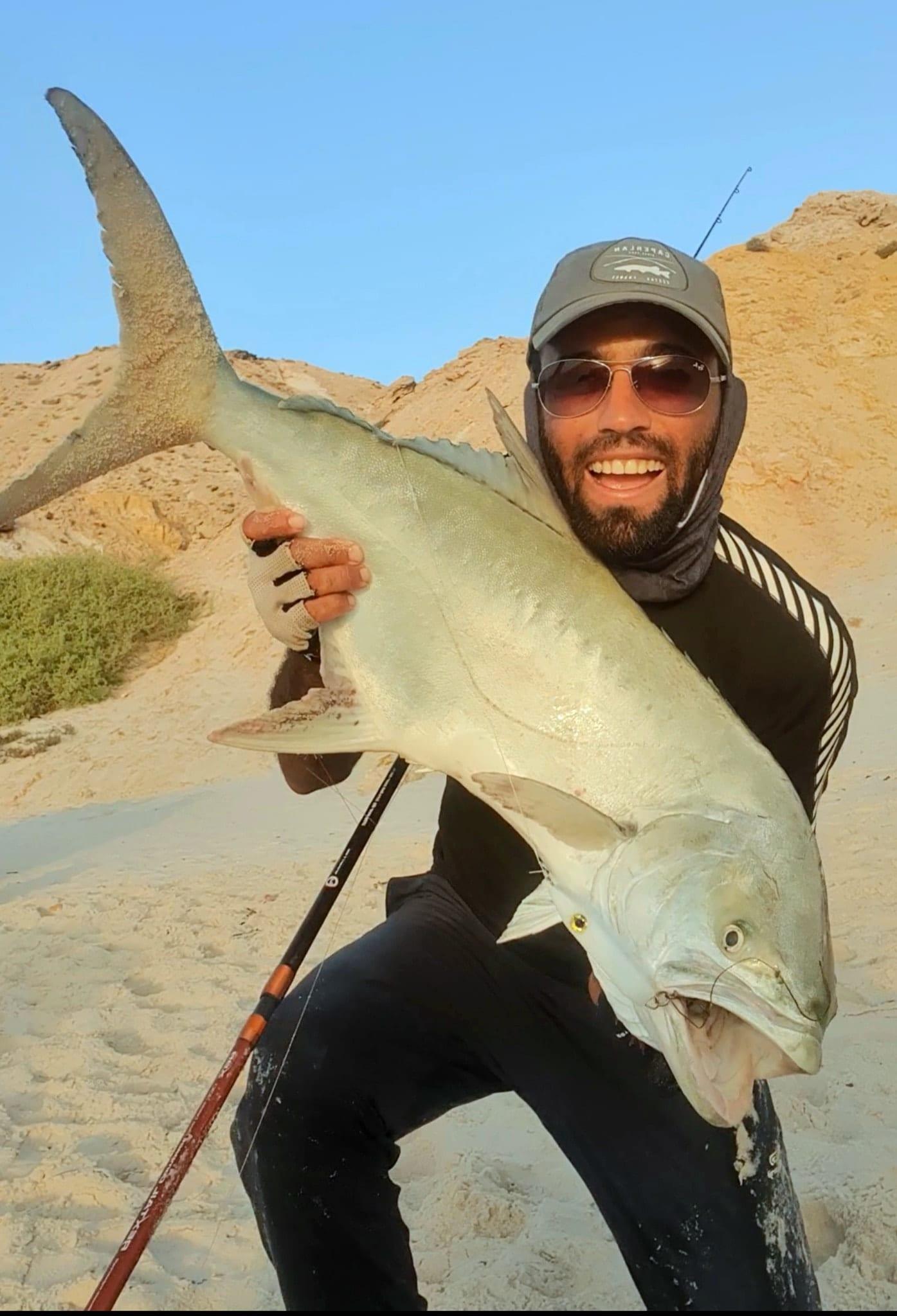 karim with a Morocco leerfish