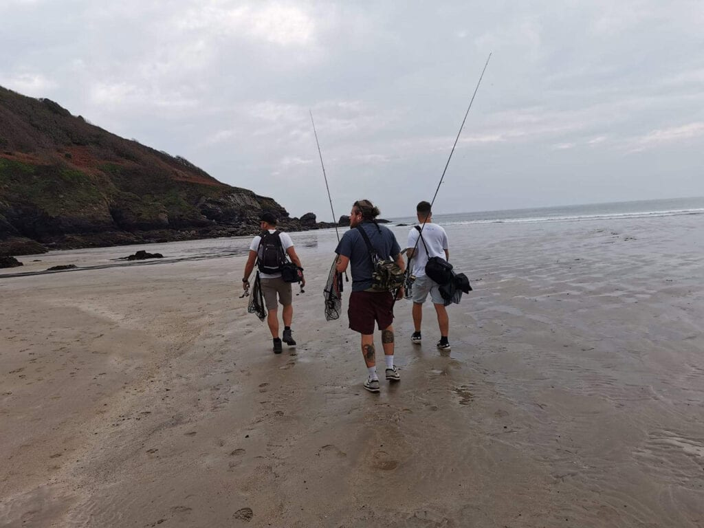LRF fishing along surf beaches and rockpools