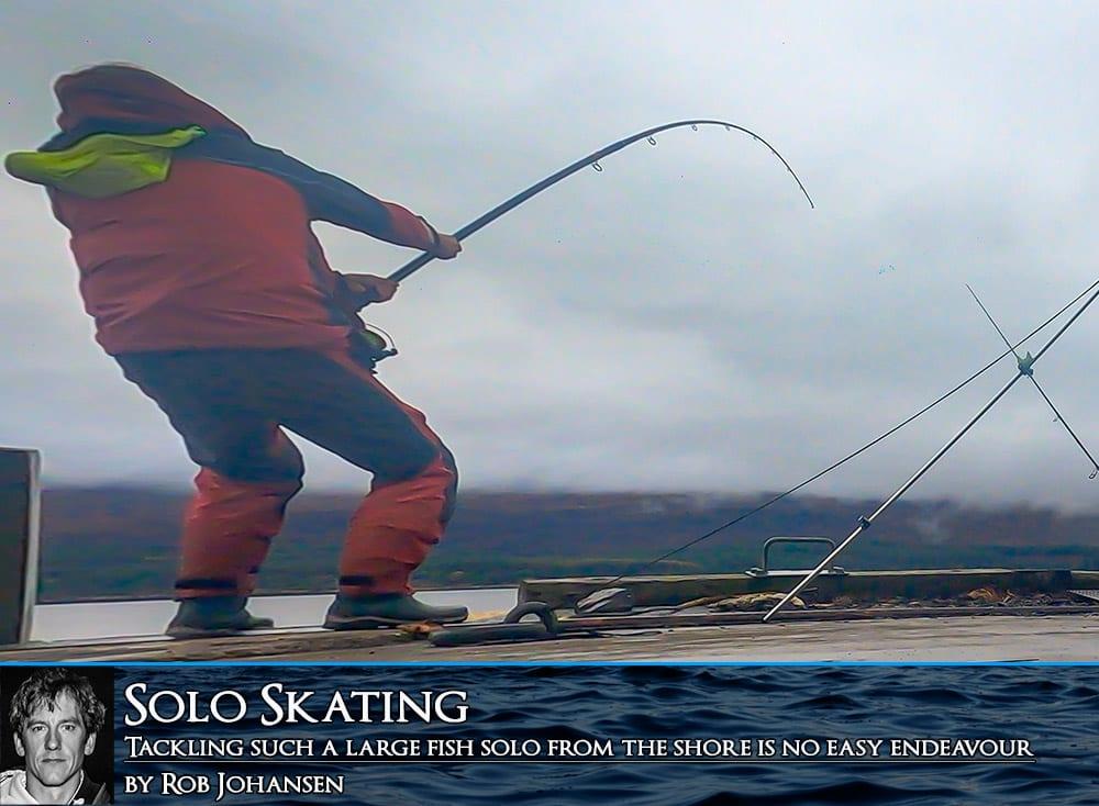 Tackling common skate solo
