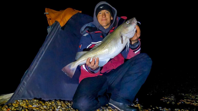 a good plump chesil cod for Rob Johansen