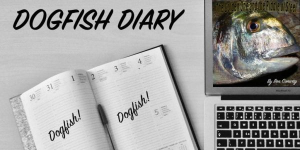 Dogfish Diary cover logo